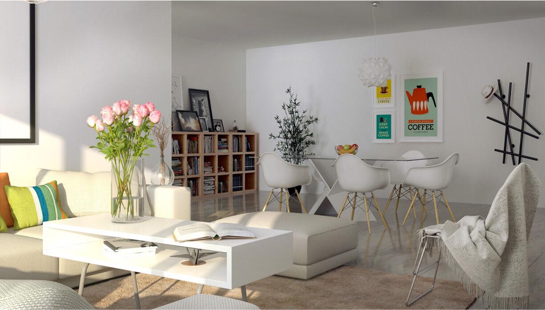 Residential Commercial Development Interior - Hoehler + alSalmy